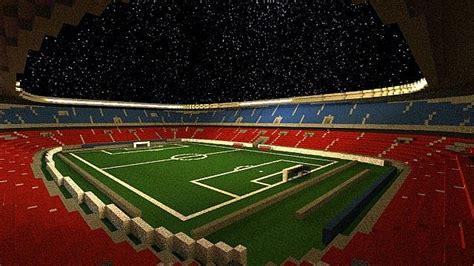 minecraft sports stadium of stadiums minecraft building inc