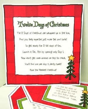 12 days of christmas gifts poems a 12 days of created with lds missionaries in mind each tag starts with quot on the 1st