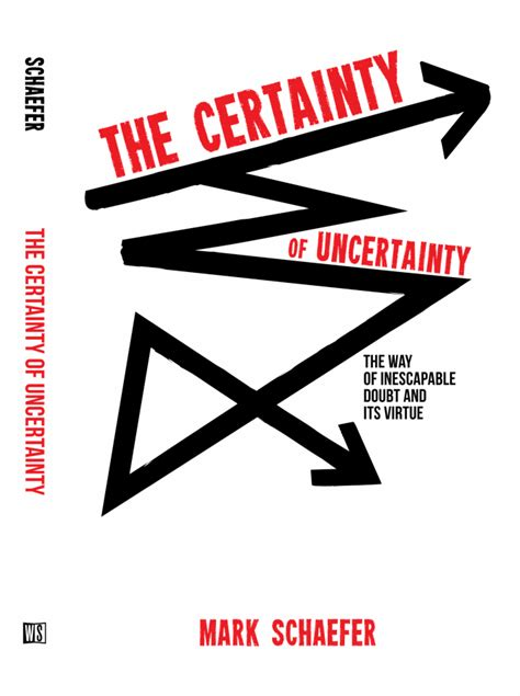 the certainty of and uncertainty of the cover is designed the certainty of uncertainty