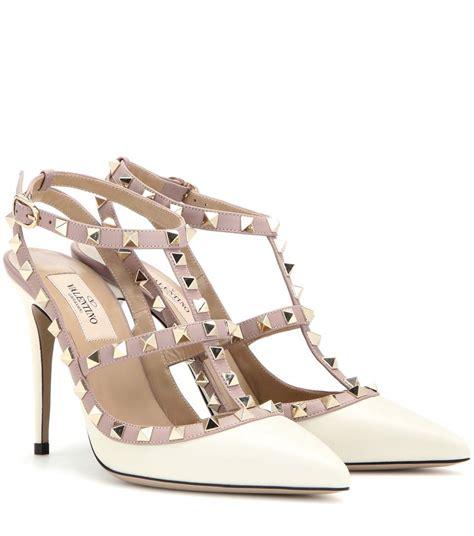 High Heels Valentino valentino valentino garavani rockstud leather pumps