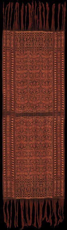 batik pattern collection pusaka collection of indonesian ikat textile 074 borneo