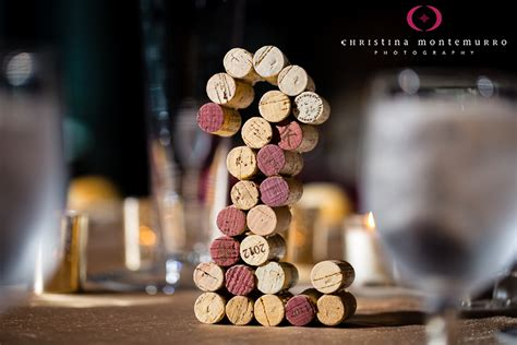 wine cork table numbers wedding reception table numbers made from corks