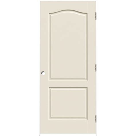 Composite Interior Doors Shop Reliabilt Primed Hollow Molded Composite Prehung Interior Door Common 30 In X 80 In