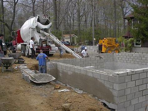 concrete block foundation flickr photo
