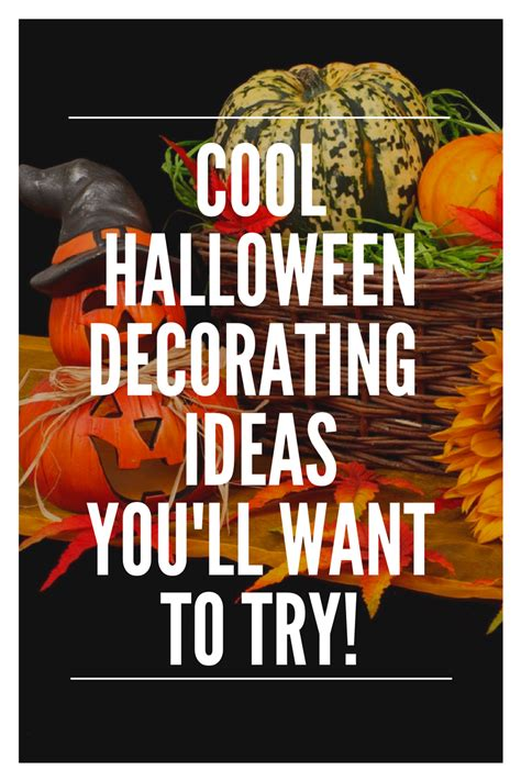 decorate halloween cool halloween decorating ideas e l feelgood s vintage