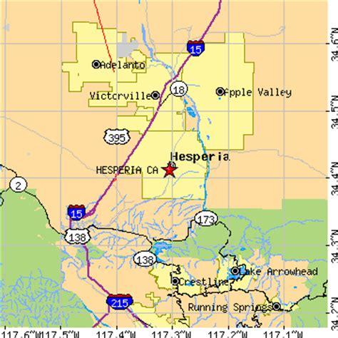 zip code map victorville ca hesperia california ca population data races