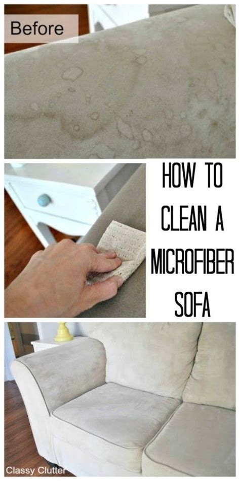 homemade microfiber couch cleaner how to clean microfiber with professional results