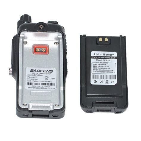 Taffware Baterai Walkie Talkie 1800mah Untuk Baofeng Bf Uv7r taffware baterai walkie talkie 1800mah untuk baofeng bf r760 black jakartanotebook