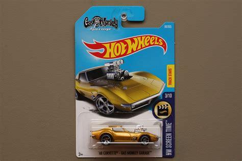 Wheels Random Murah 2016 2017 Hotwheels wheels 2017 hw screen time 68 corvette gas monkey garage