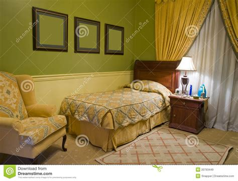 Bedroom Images Free Single Bed Bedroom Royalty Free Stock Images Image 20793449