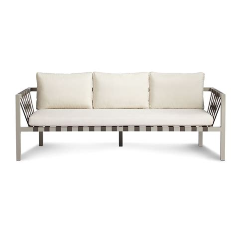 3 Seater Outdoor Sofa by Jibe Outdoor 3 Seat Sofa Modern Outdoor Sofas Dot