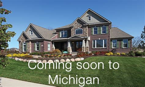 building a home in michigan new homes michigan inventory homes in michigan for sale