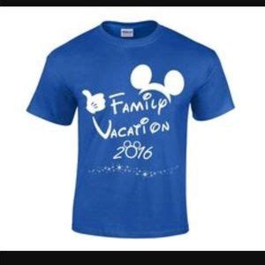 64% off tops disney world family vacation matching t