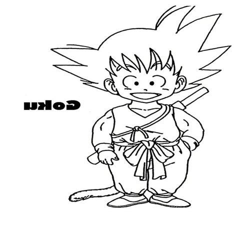 imagenes de goku a color para imprimir dibujos goku para colorear e imprimir