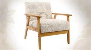 fauteuil contemporain en bois avec tissu 224 motifs vari 233 s