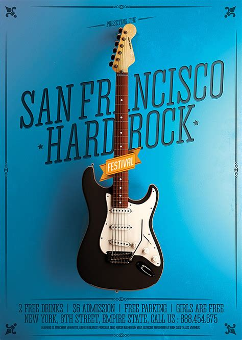 minimal rock festival posters  behance