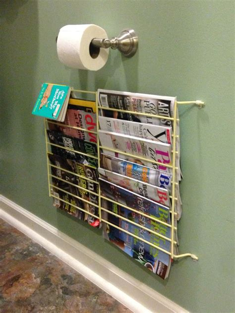 Repurposed Magazine Rack by An Awesome Repurposed Magazine Rack In Your