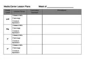 library lesson plan template 301 moved permanently