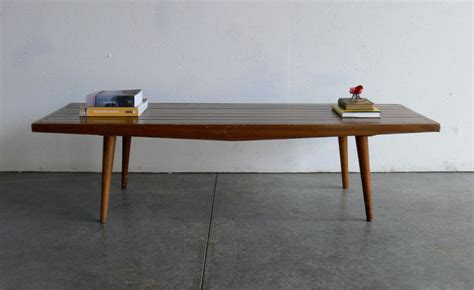 Bassett Dining Room Furniture by Vintage Mid Century Modern Coffee Table Bench