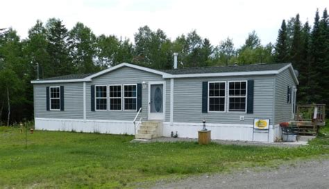 sangerville maine doublewide mobile home home real estate