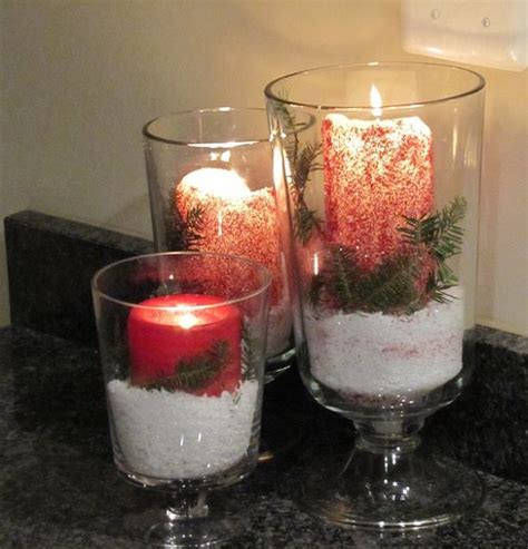 christmas candles diy 20 diy decorations and crafts ideas