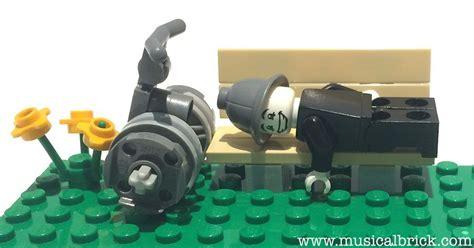 Lego Custom Lamia mini figures musical brick