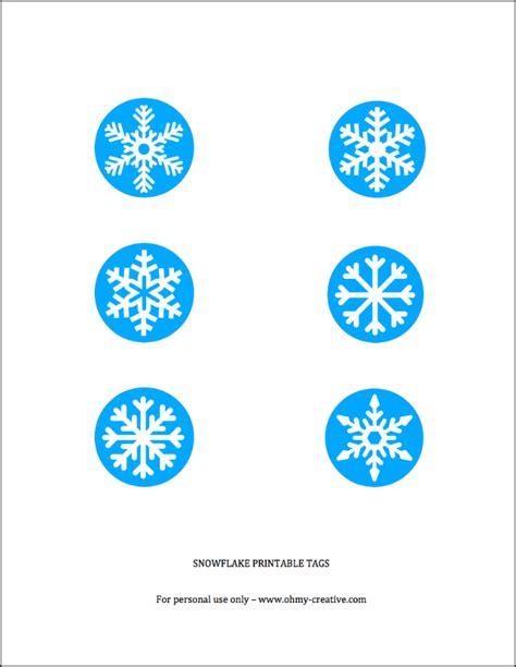 printable snowflake tags frozen sugar scrub with free snowflake printable