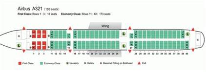 air china airlines airbus a321 aircraft seating chart