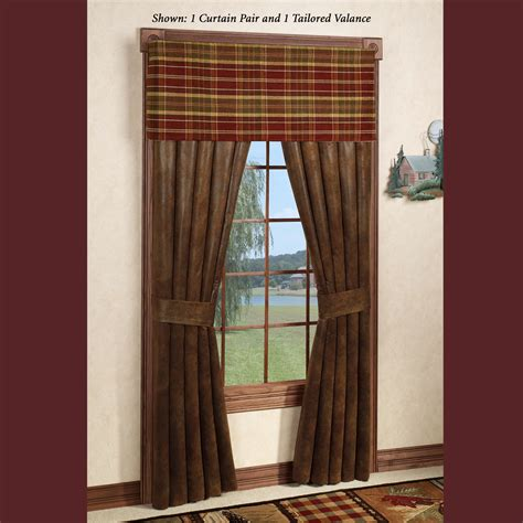 rustic curtains cabin window treatments rustic window treatments shabby chic rustic rag curtain