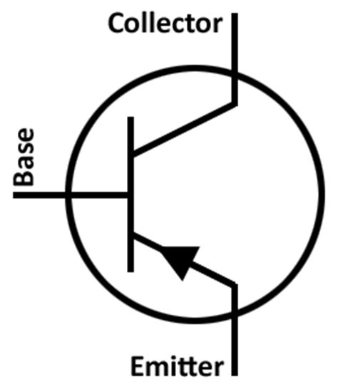 pnp resistor symbol engineering controller circuit components
