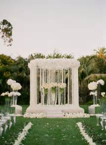 mind blowing wedding ceremony decor the magazine