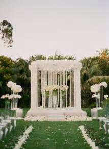 wedding altar decorations mind blowing wedding ceremony decor the magazine