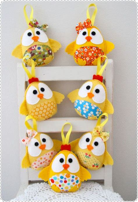 Handmade Easter - plushka handmade softies easter gifts chickens