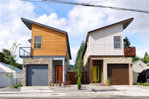 narrow modern homes modern northwest narrow house design by studio sm modern home designs pinterest
