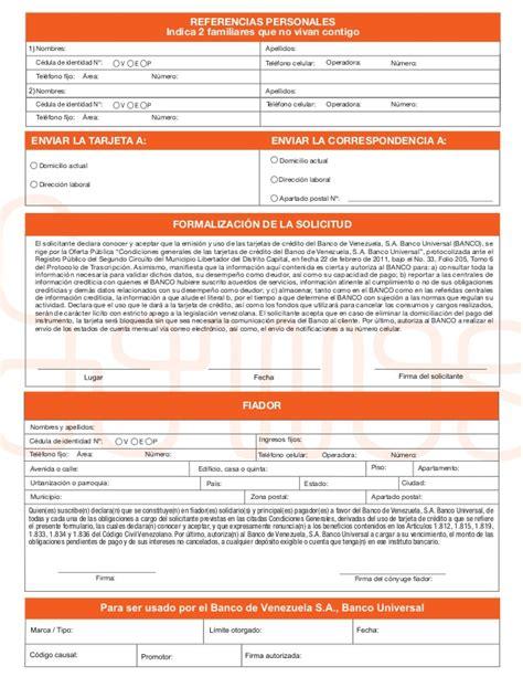 planilla de solicitud credinomina banco bicentenario creditociostal blog