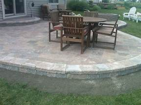 Patio Design Ideas With Pavers Simple Paver Patio Home Design Roosa