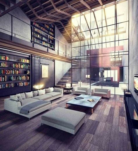 Big Modern Living Room by Modern Living Room Design Ideas