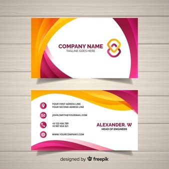 Card Template Freepik by Business Vectors 195 800 Free Files In Ai Eps Format
