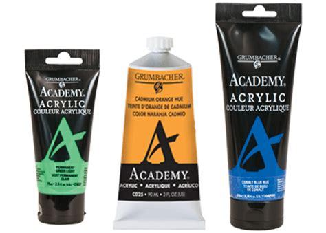 academy acrylic grumbacher