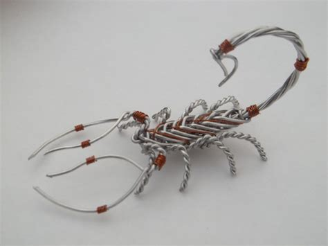 aluminum to copper wire aluminum and copper wire scorpion by wirewerx on deviantart