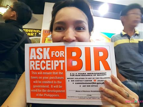 bir ask for receipt template my true story how i registered with bir as a self