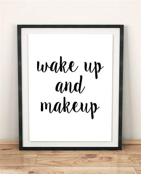 posters for bedroom doors makeup print bathroom wall decor modern art teen girl gift