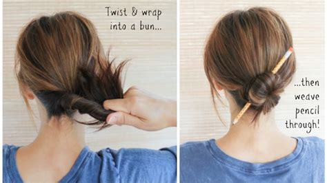 is putting hair in a bun a new fad 10 easy cool life changing beauty hacks every lazy girl