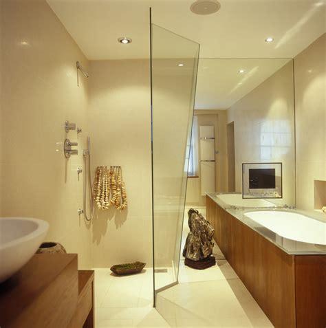 Modern Bathroom Beige Beige Modern Bathroom Modern Bathrooms Lonny