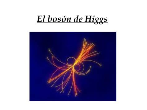 el bosn de higgs el bos 243 n de higgs