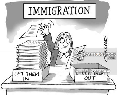 political cartoon about illegal immigration immigration policy cartoons and comics funny pictures
