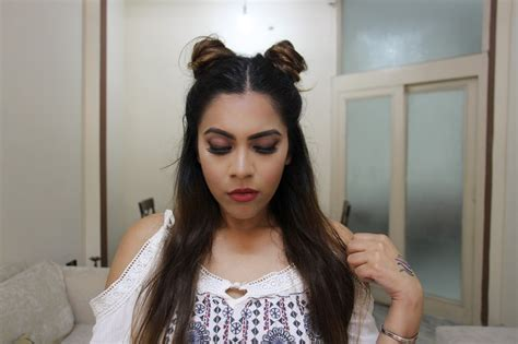 hairstyles school online twin buns no heat 2 minute hairstyle indian beauty diary