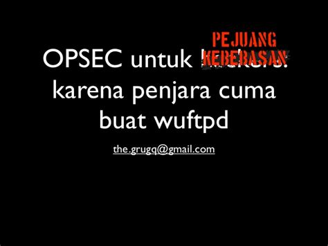 film hacker bahasa indonesia opsec for hackers bahasa indonesia