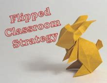 Chemistry Origami - origami rabbits and flipped chemistry classroom use an