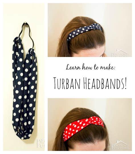 tutorial make turban how to make a turban headband